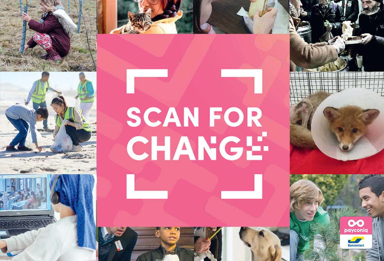 Scan for change